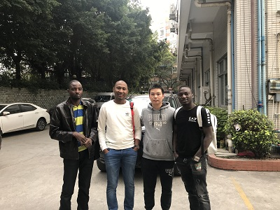 Guangzhou Yueshen Medical Equipment's Customer from Niger