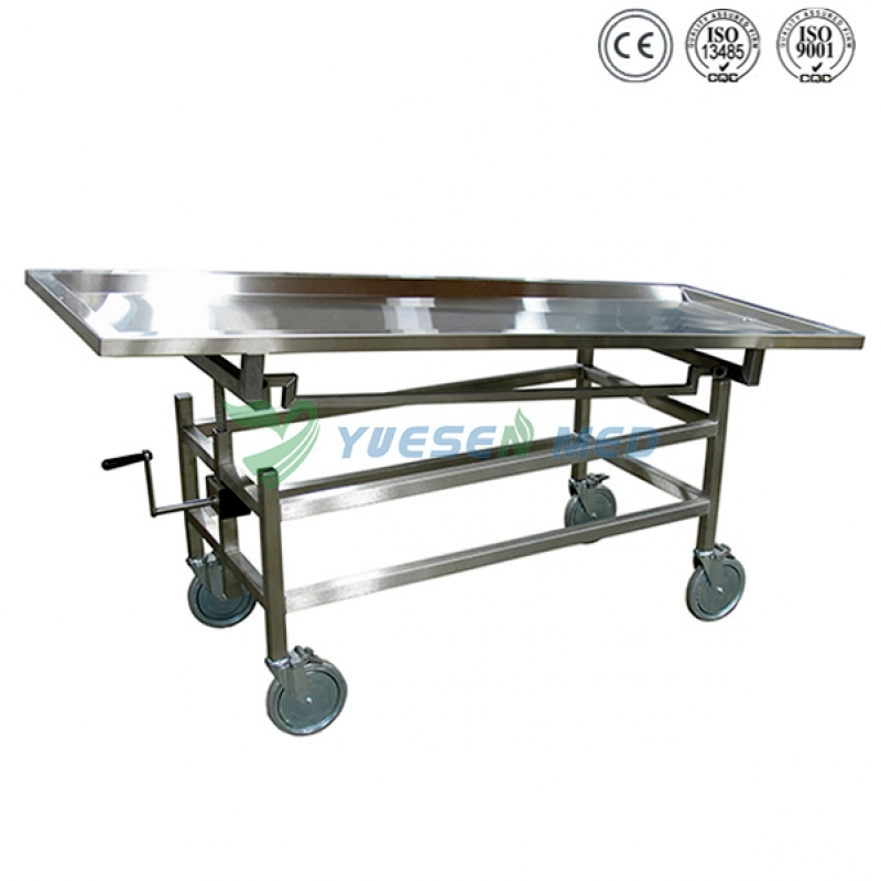 Stainless Steel Mortuary Corpse Lifter YSTSC-2B