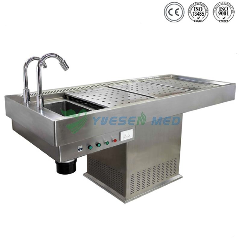 Stainless Steel Hospital Morgue Autopsy Table