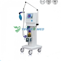 "NCP use High-definition 5.7"" LCD Screen Display Mobile Medical Ventilator YSAV201M"