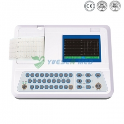 Color Screen Portable ECG Unit YSECG-03W