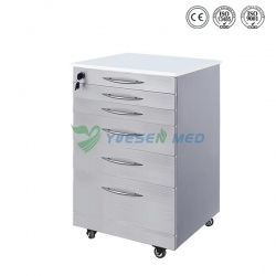 Stainless steel Dental Furniture Dental Cabinet YSDEN-D10