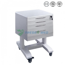 Mobile Stainless Steel Dental Cabinet YSDEN-D20