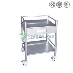 One Big Drawer Stainless Steel Mobile Dental Cabinet YSDEN-D50