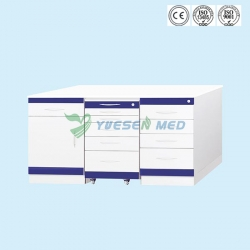 Customized First Grade Stainless Steel Dental Cabinet YSDEN-ZH01