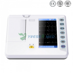 Touch Screen Portable ECG YSECG-06G