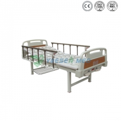 Manual Two Hand Cranks Hospital Bed YSHB102A