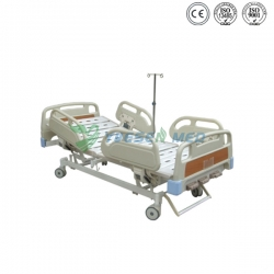 3 Hand Crank Manual Patient Bed YSHB103B