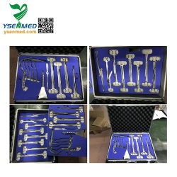 W-FB Top Quality Operation Room Use Abdominal surgery instrument kits fully Stainless Steel Abdominal Surgical Instrumen