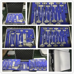 SSF-2 Medical stainless steel surgical instrucment kit cheap price gynaecological instrument set
