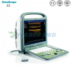 Portable Color Doppler Ultrasound SonoScape S2