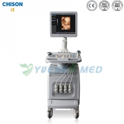 Trolley Color Doppler Chison Ultrasound Machine Chison I3