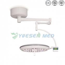 LCD Control Panel Ceiling Mounted LED Surgical Light YSOT-LED70