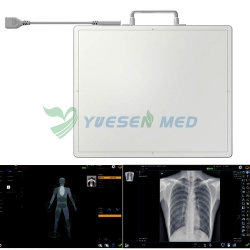 YSENMED Wired & Wireless Portable Flat Panel Detector YSFPD4343A VET