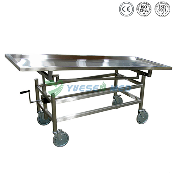 Stainless Steel Mortuary Corpse Lifter