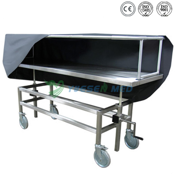 Stainless Steel Corpse Transfer Trolley