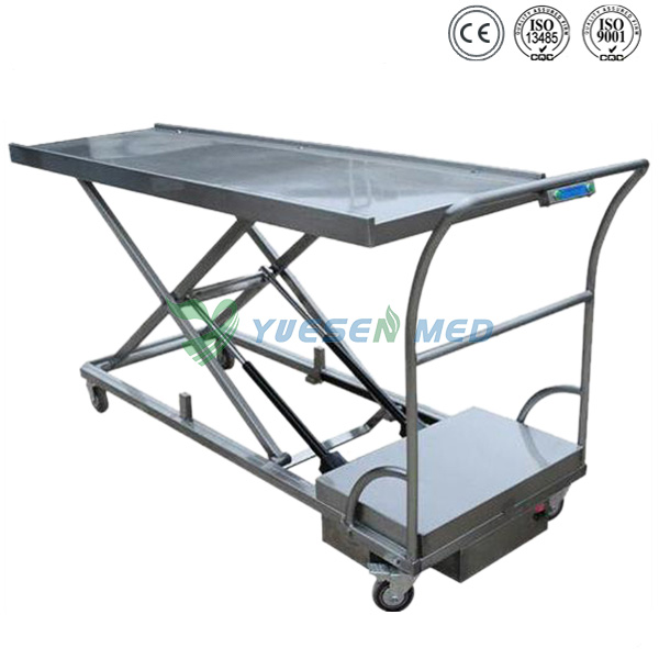 Stainless Steel Corpse Trolley Stretcher