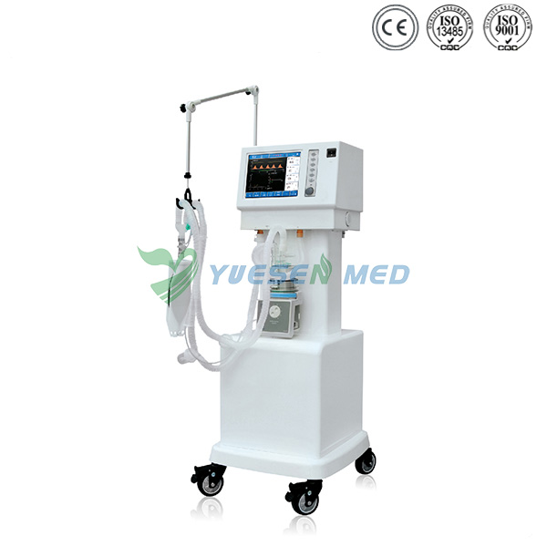 Mobile 10.4 Inch LCD Medical Ventilator Machine YSAV203
