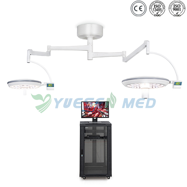 Wall-mounted Double-doomed Lamps LED Surgical Lights YSOT-LED7050-TV